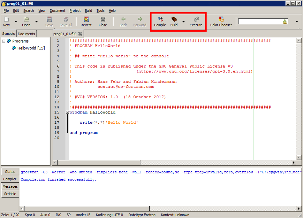 How to Run Your First Fortran Program on a Windows PC | Introduction